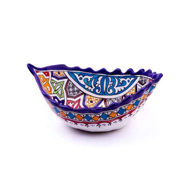 Sucrier en poterie Marocain, céramique